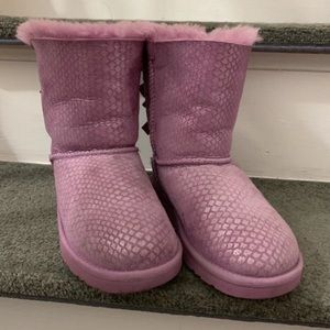 {UGG} Bailey Bow ll - Pink - Size 1